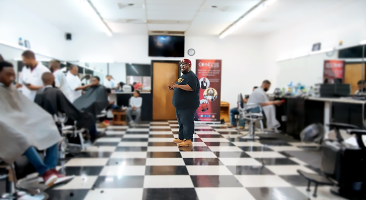Building a Culture of Mental Health for Black Men and Boys, One Barber Chair at a Time